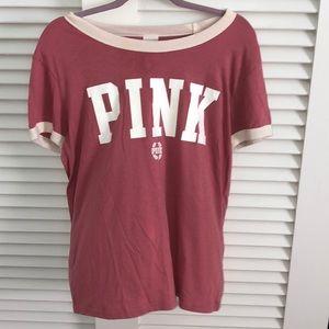 pink victortious secret pajama t  shirt
